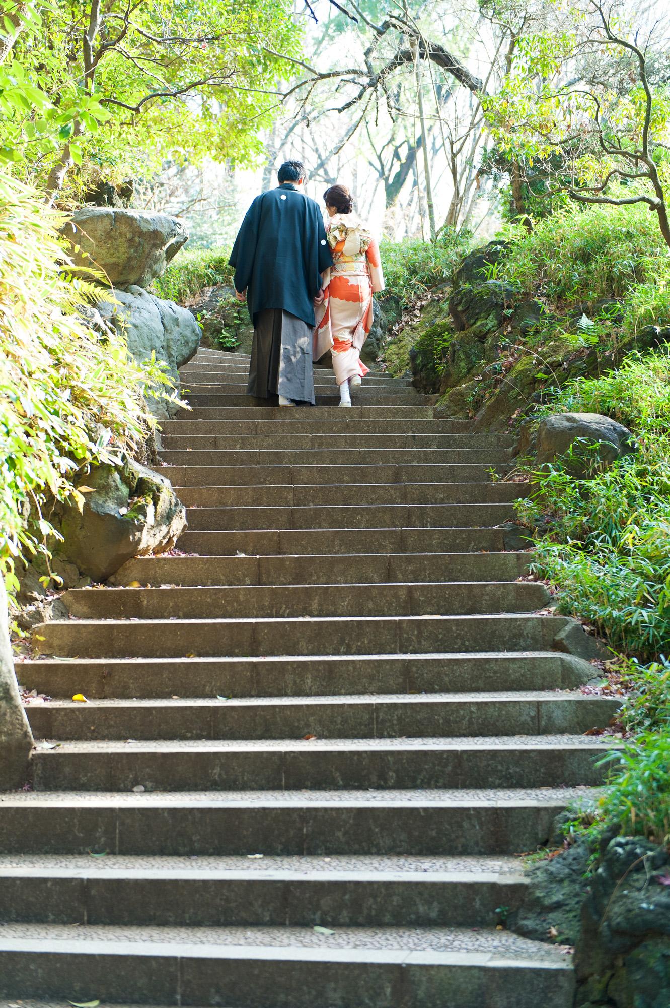 結婚式前撮り ロケーションフォト 有栖川宮記念公園 06