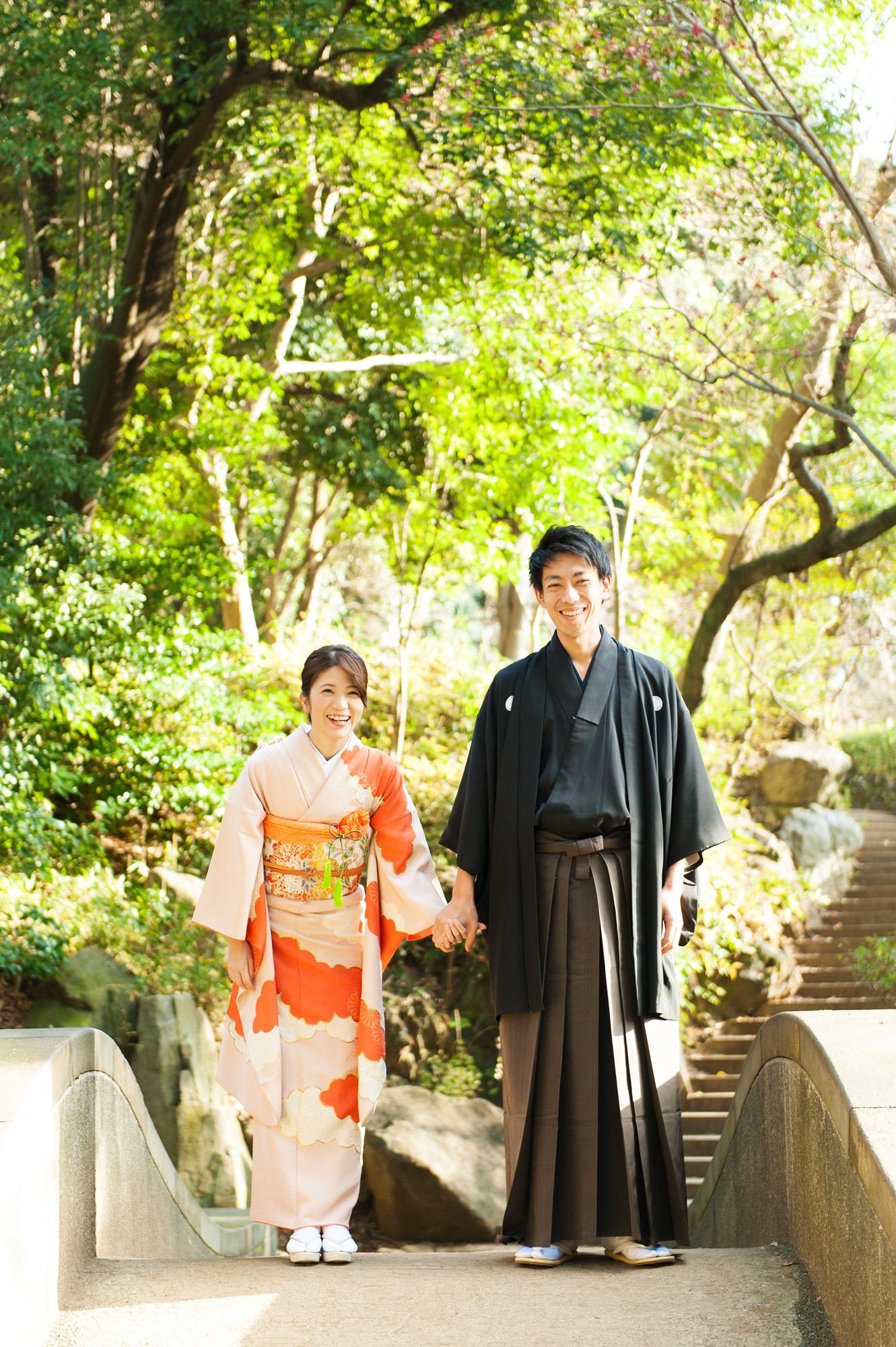 結婚式前撮り ロケーションフォト 有栖川宮記念公園 05