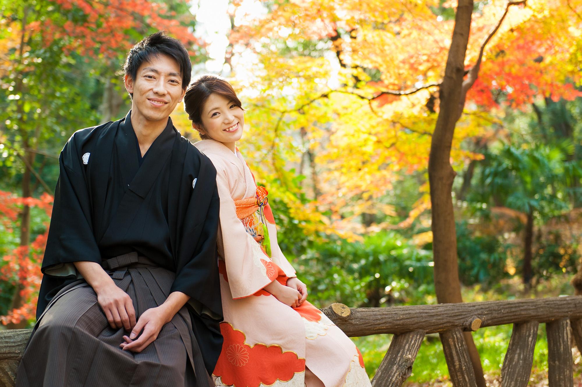 結婚式前撮り ロケーションフォト 有栖川宮記念公園 07