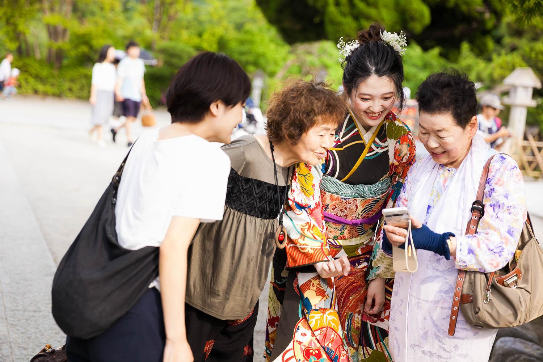 成人式 前撮り 鎌倉 出張撮影 ロケーションフォト