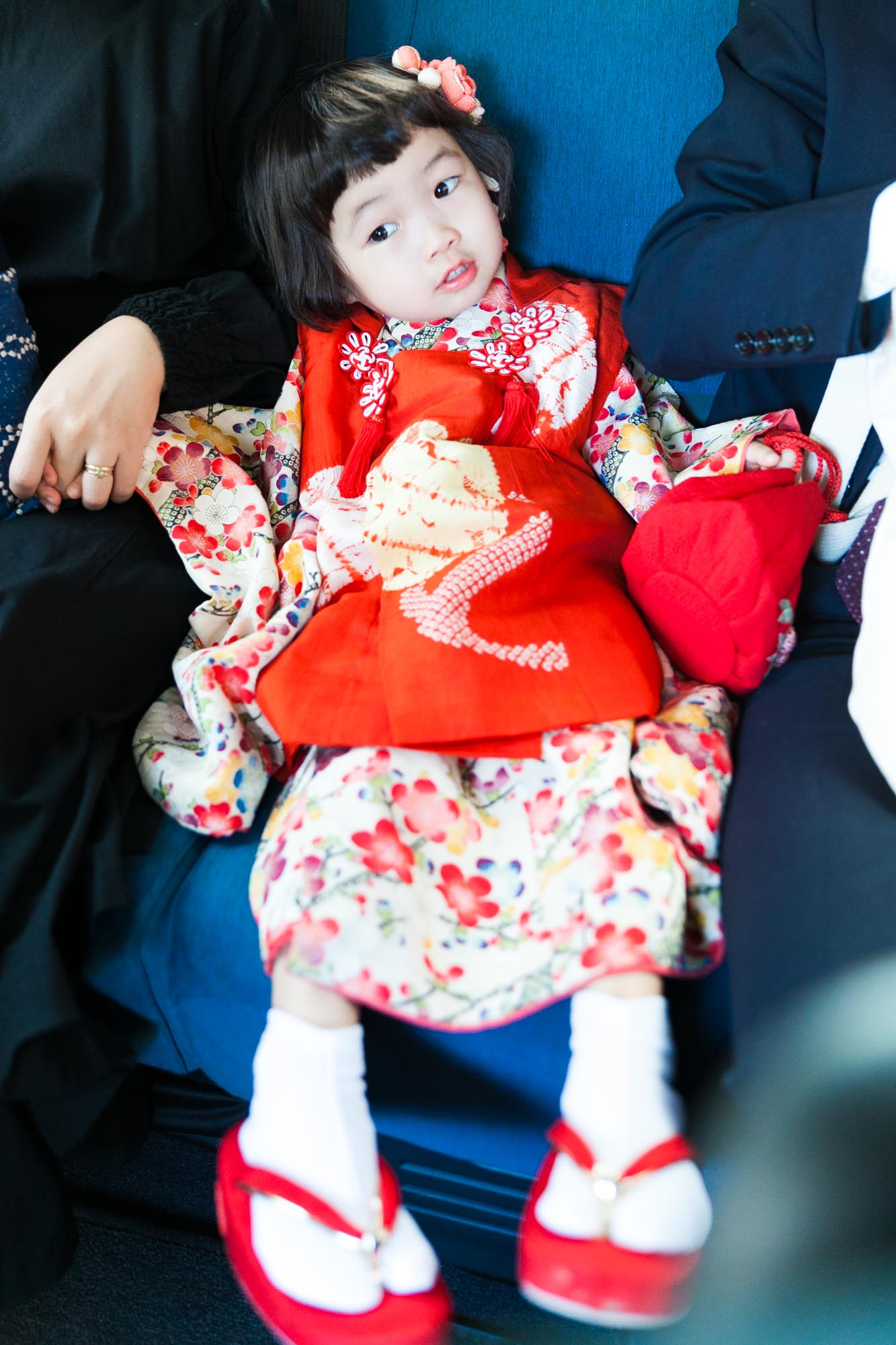 七五三 3歳女の子 水天宮 出張撮影 ロケーションフォト