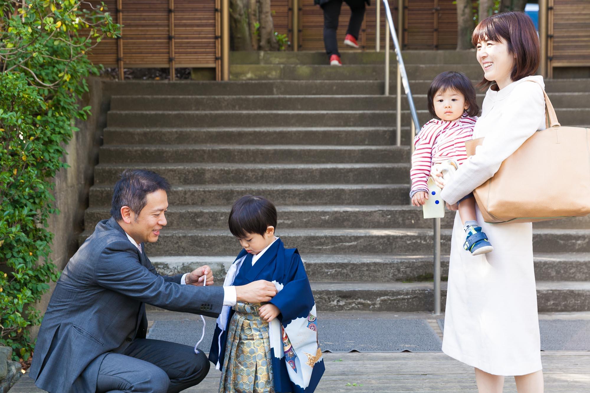 七五三 出張撮影 ロケーションフォト 神明社