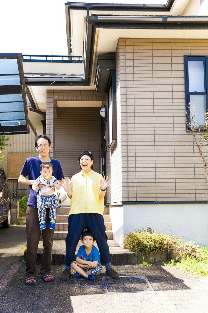 静岡 家族写真