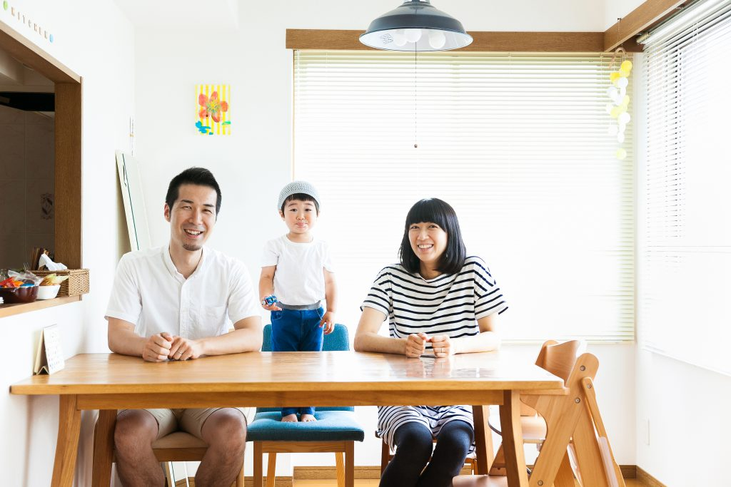 HOLIDAY 家族写真