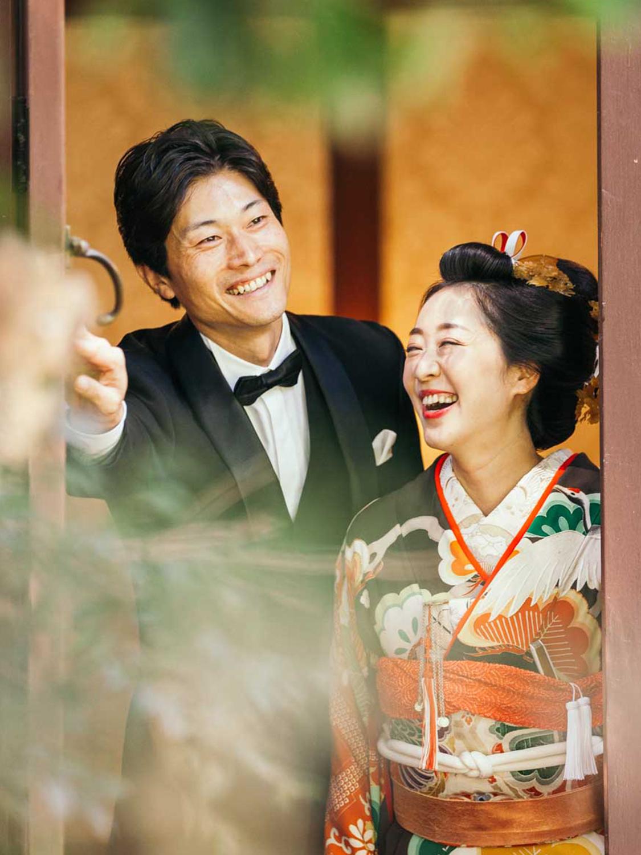 婚礼前撮り 旧前田侯爵邸