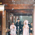 明治神宮 結婚式 雨