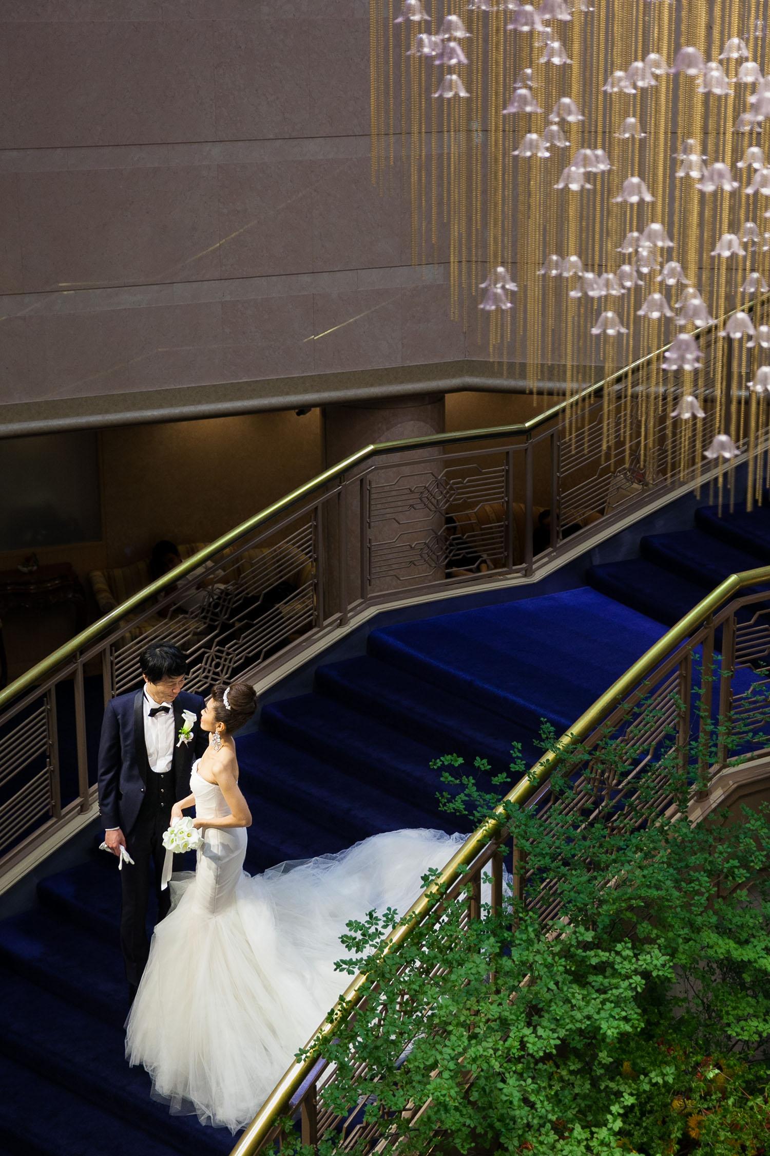明治記念館 階段