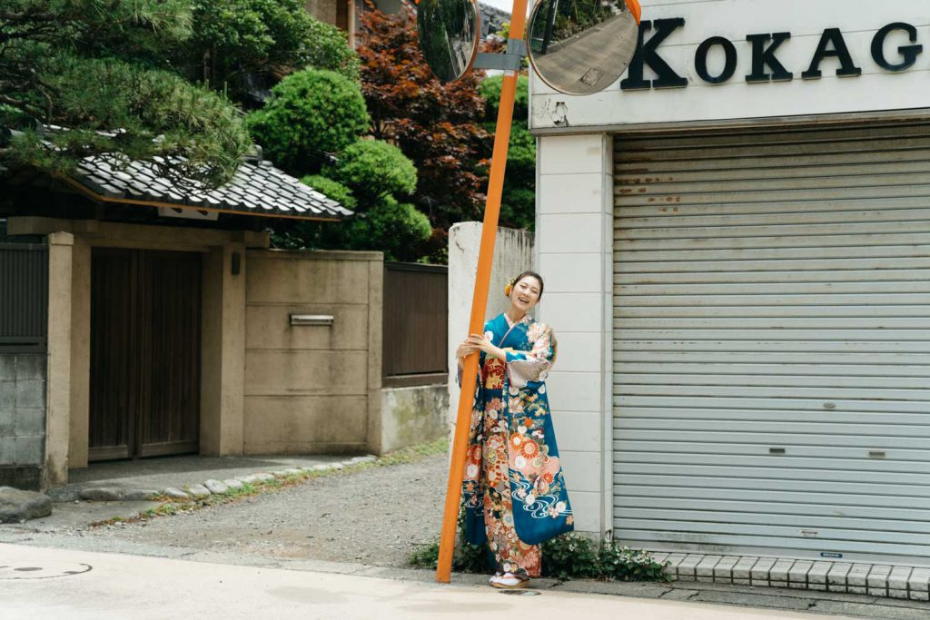 成人式 前撮り 鎌倉