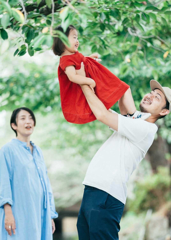家族写真 宿河原スタジオ〜二ヶ領用水