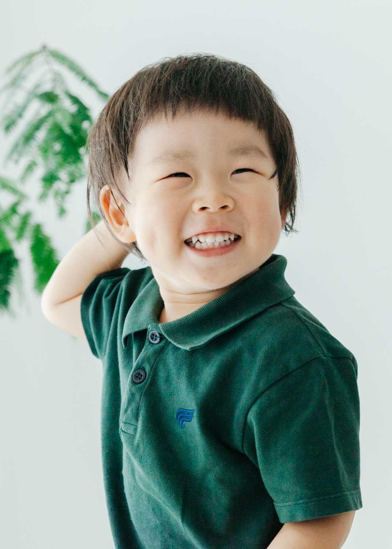 家族写真撮影 3歳 宿河原スタジオ〜二ヶ領用水