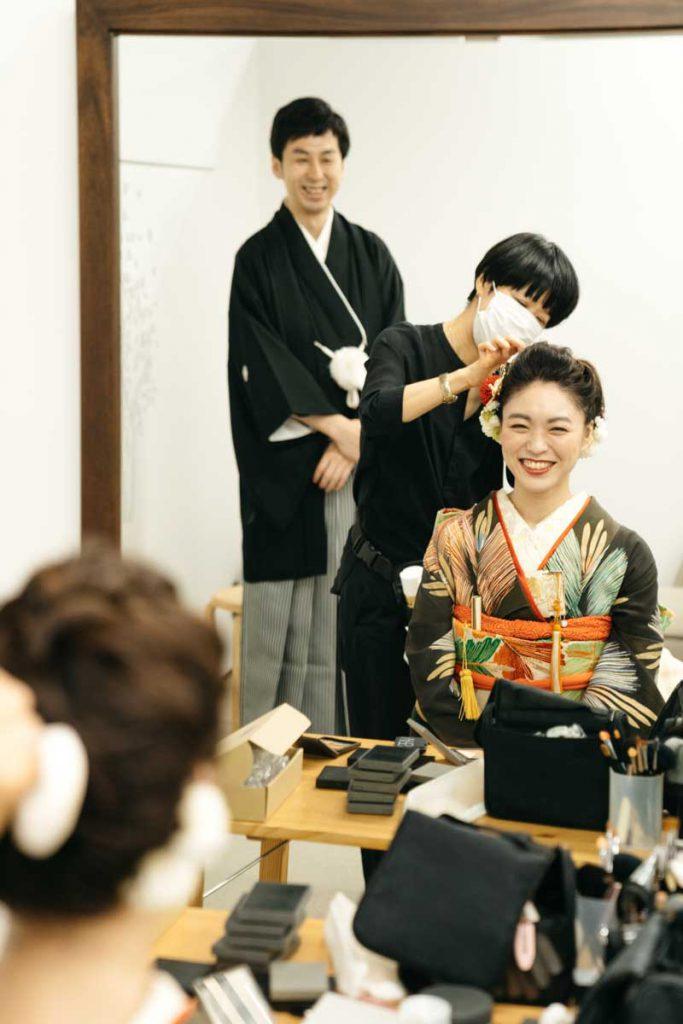 和装 結婚式 日本橋日枝神社