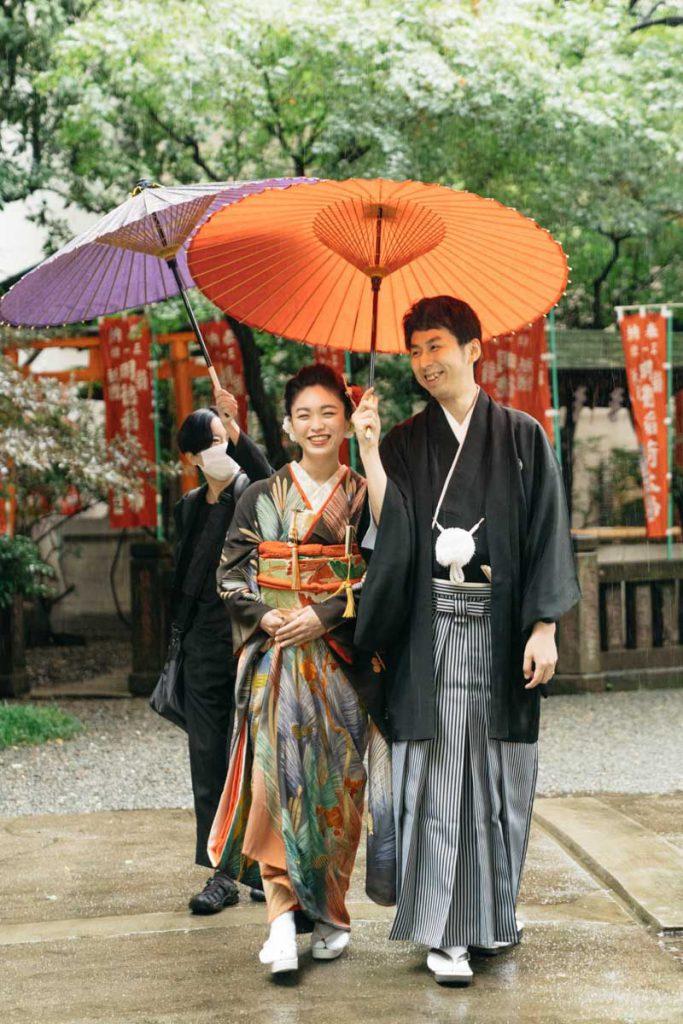 和装婚礼 結婚式 日本橋日枝神社