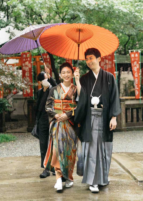 Wedding-当日- 日本橋日枝神社 撮影