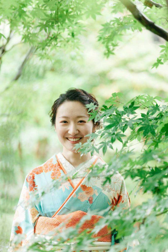 目白庭園 成人式 前撮り 写真撮影